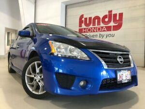 2014 Nissan Sentra SR w/leather, navi, sunroof, alloys ONE LOCAL