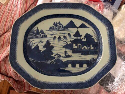 Authentic Antique Canton Platter