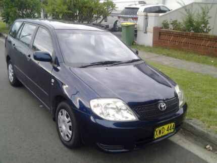 2002 Toyota Corolla 183km 5 months rego