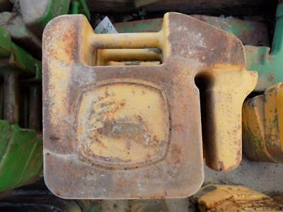 John Deere Stamped Suitcase Weights For Tractors Skid Steers Etc. R66949
