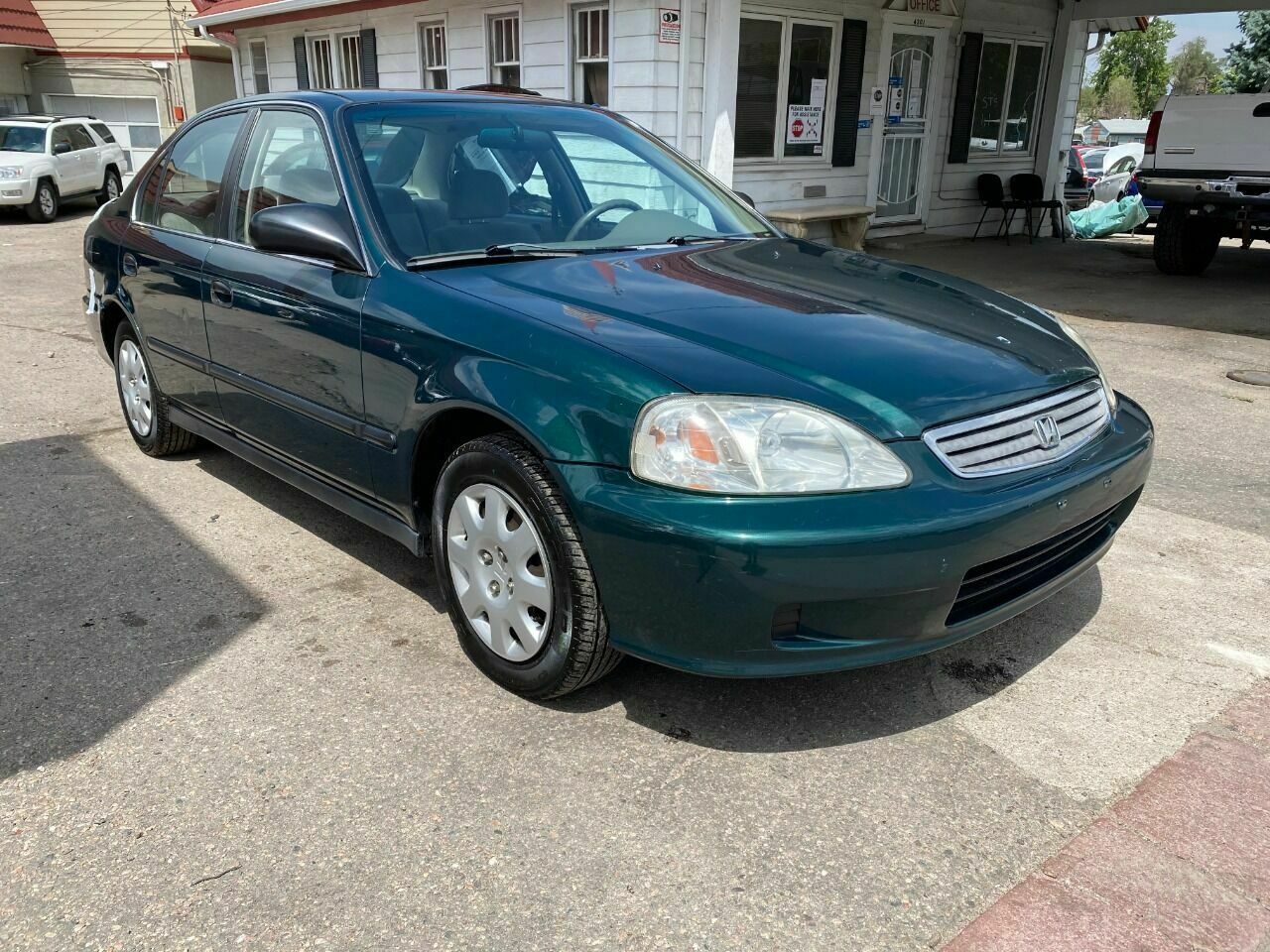 1999 Honda Civic, Green with 122653 Miles available now!