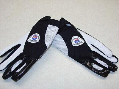 NWT Reebok NFL Equipment Football Tackle Gloves Black/White XXL 2XL GRIPONITE
