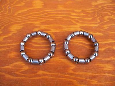 "2x Bicycle Crank and Headset American 5/16"" x 9 BALL BEARING RETAINER"