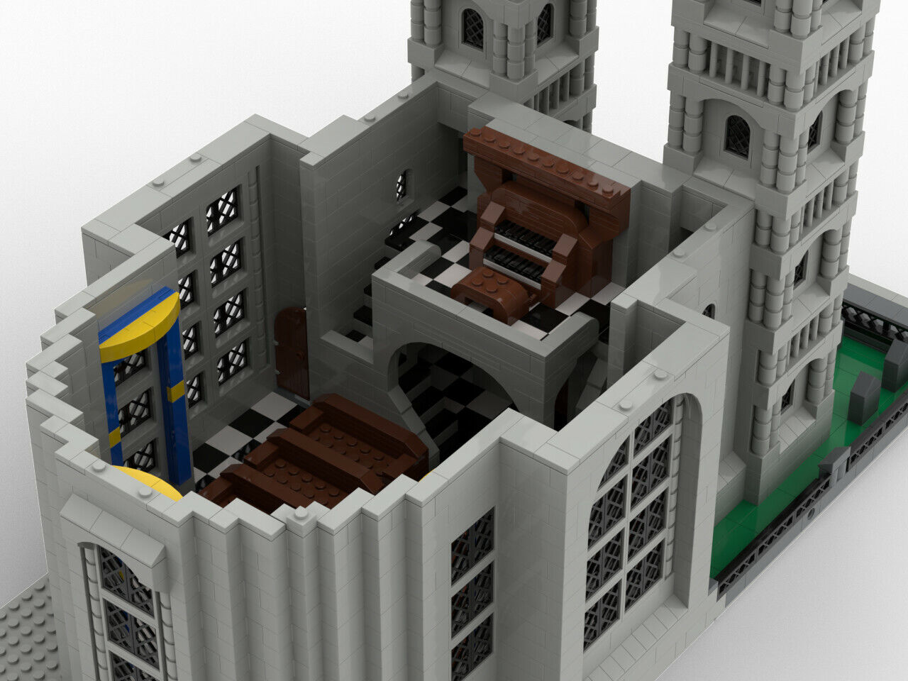 Lego MOC Modular church - pdf instructions only | Shopping Bin - Search  eBay faster