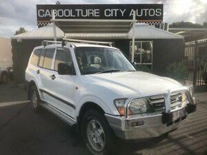 2000 Mitsubishi Pajero NM GLX LWB (4x4) White 5 Speed Auto Sports Mode Wagon Morayfield Caboolture Area Preview