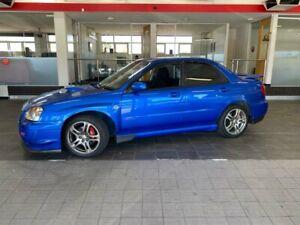 2005 Subaru Impreza S WRX Sedan 4dr Man 5sp AWD 2.0T [MY05] Blue Manual Sedan