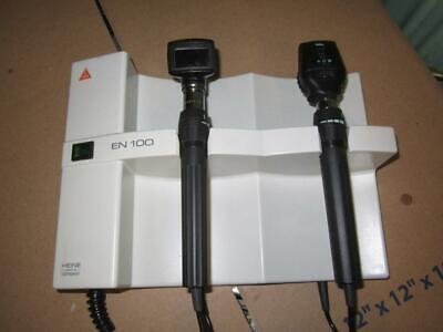 Heine En100 Otoscope Ophthalmo With Welch Allyn Accessories