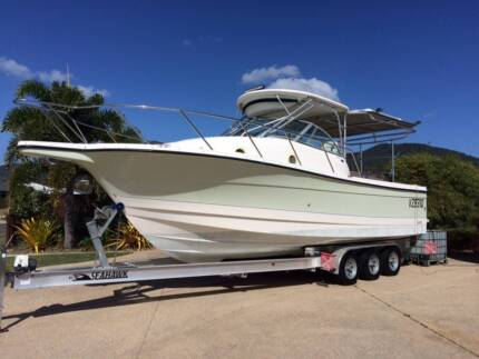 29 ft Trophy boa 2902, 2005 model Twin 225 hp four strokes Mackay 4740 Mackay City Preview