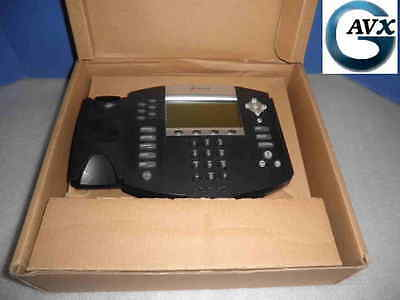 Polycom SoundPoint IP 650,+90d Wrnty, Handset, Stand, Cables: 2200-12360-025
