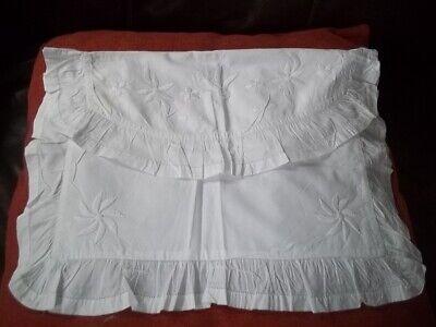 Antique Linen Embroidered Nightshirt/Pyjama case