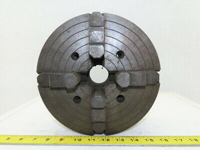 9 Dia. X 1-34 Id Self Centering 4 Jaw Independent Lathe Chuck