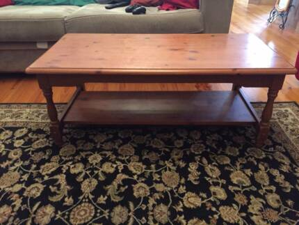 Coffee Table for pick up!