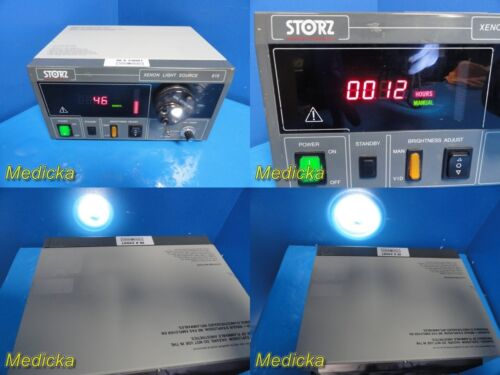 Karl Storz 615 Xenon Light Source W/ 487U Turret (12 Hours Done ONLY) ~ 24087
