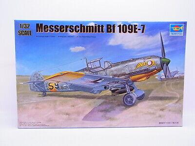 68966 Trumpeter 02291 Messerschmitt Bf 109E-7 Bausatz 1:32 NEU in OVP