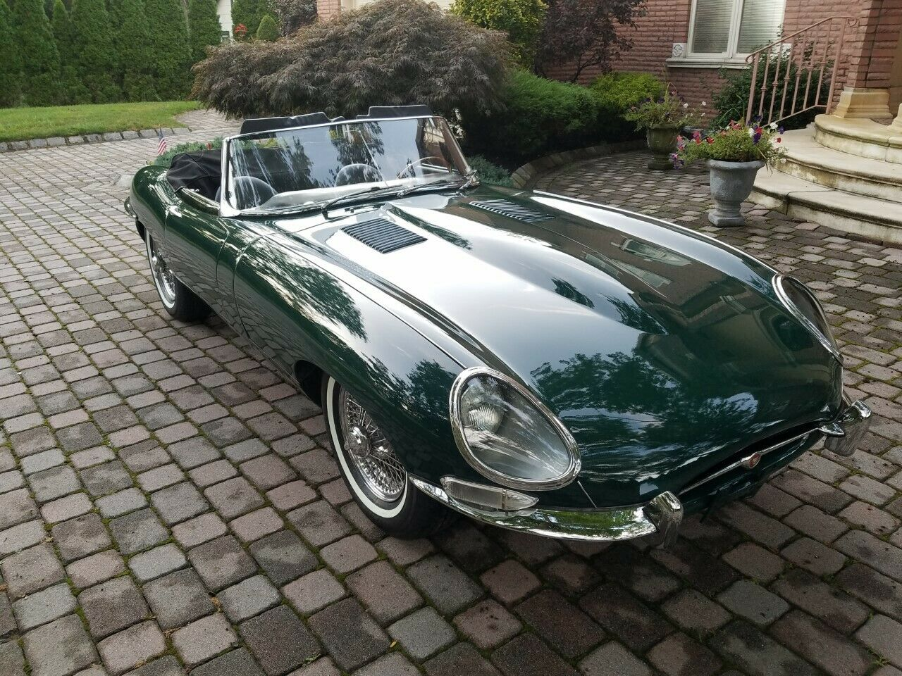 1962 JAGUAR E-TYPE XKE  FLAT FLOOR Matching Numbers Solid Rust Free
