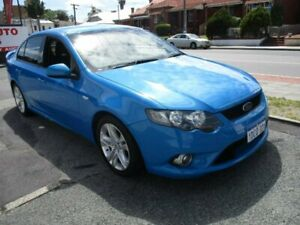2009 Ford Falcon FG XR6 Blue 5 Speed Sports Automatic Sedan West Perth Perth City Area Preview