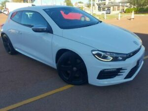 2016 Volkswagen Scirocco 1S MY16 R Coupe DSG White 6 Speed Sports Automatic Dual Clutch Hatchback