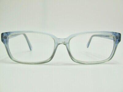 Retro Blue Translucent RX Prescription Rectangular Glasses Frames  Retro Prescription Glasses