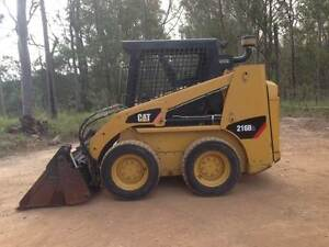 Skidsteer Cat 216B2 Gympie Gympie Area Preview