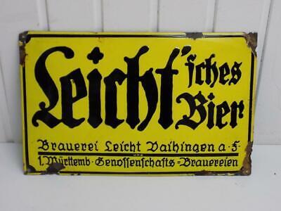 Bierwerbung Werbeschild Bier Reklame Poster Deko Kneipe Schild Brauerei *634 .