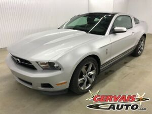 2011 Ford Mustang Premium V6 Cuir Toit Panoramique Vitré MAGS