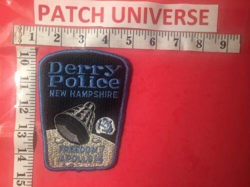 DERRY NEW HAMPSHIRE POLICE APOLLO 14  SHOULDER  PATCH  O050