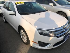 2011 Ford Fusion SEL. With Leather