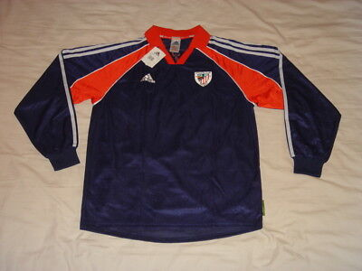 Athletic Bilbao Soccer Jersey Player Issue Spain Adidas Equi