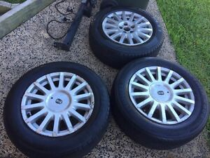 Ford ba 16inch rims x3 East Maitland Maitland Area Preview