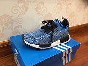 Adidas Nmd Pk deadstock blue camo us 6 Croydon Park Canterbury Area Preview