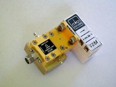 Miteq Microwave Amplifier 27-30 Ghz 20 Db Gain Wr28 Ka Band