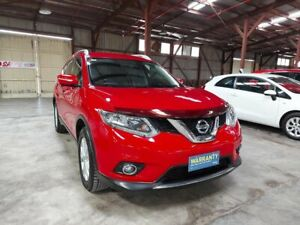 2014 Nissan X-Trail T31 Series 5 ST-L (FWD) Red Continuous Variable Wagon