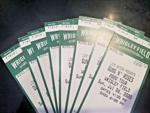 8 Tickets Guns N