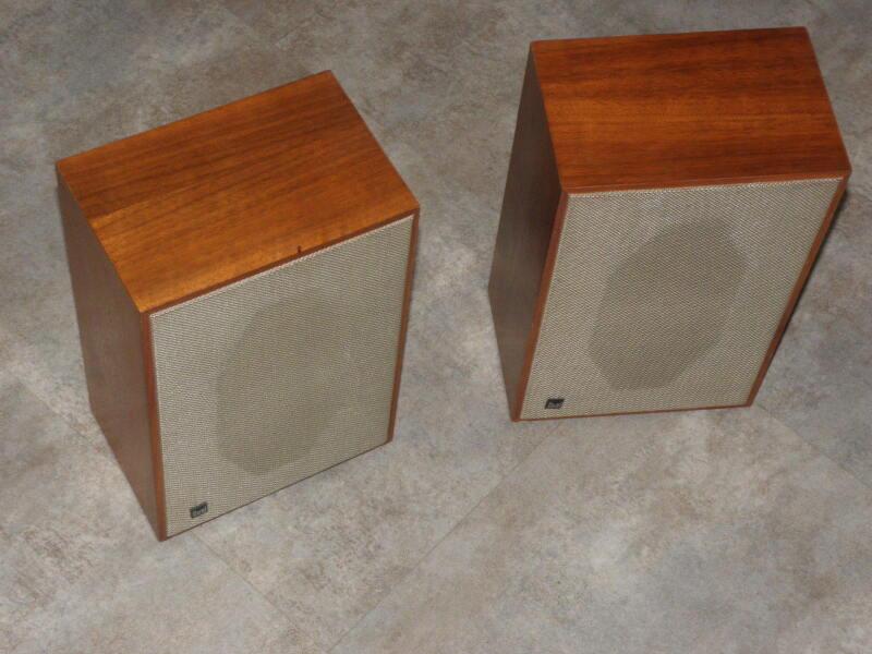 dual cl 111 hi fi box speakers wood vintage Compact LAUTSPRECHER retro stereo
