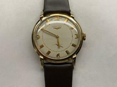 Men's Vintage Longines Watch, 17J Automatic Cal.19A, 10K YGF Case, SERVICED