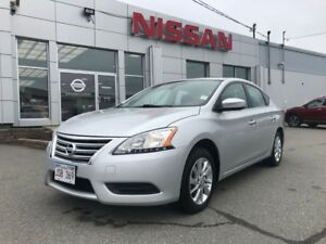 2015 Nissan Sentra SV   $113 BI WEEKLY Low km and lots of featur