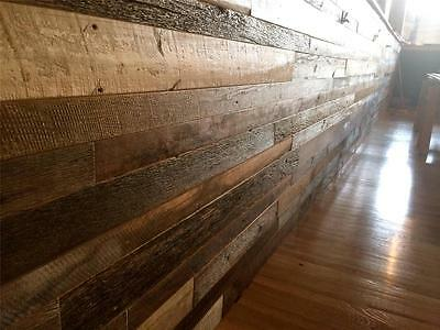 Pre-finished Reclaimed Barnwood Paneling Barn Wood Vintage Rustic Paneling