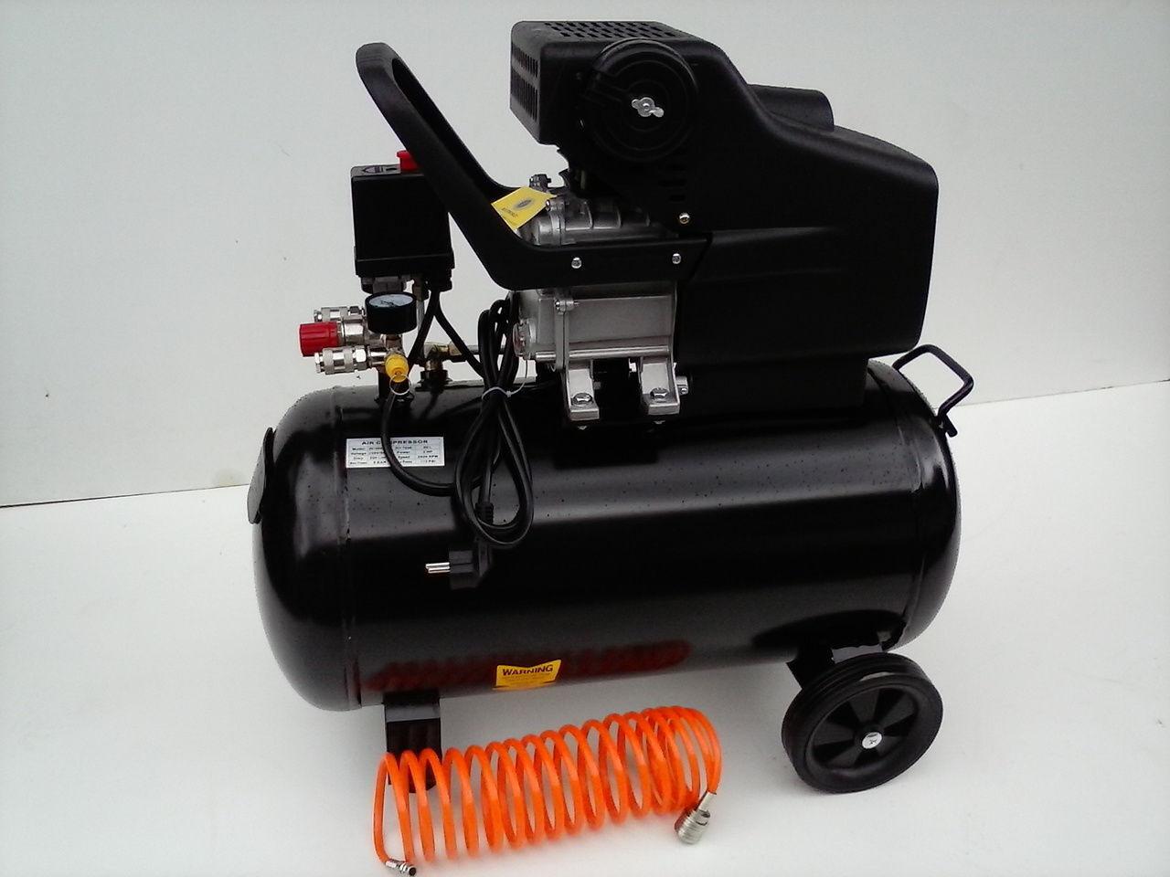 Kompressor Druckluft Druckluftkompressor Verdichter 2 PS 1500W/ 24 oder 50 Liter