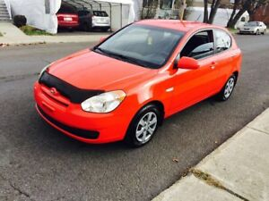 2008 Hyundai Accent coupe 4cylinder 108km 2499$