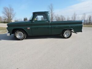 1966 Chevrolet C10 396 CI. Fully restored. A must see
