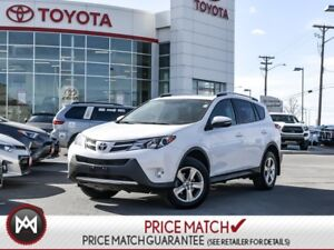 2015 Toyota RAV4 XLE: SUNROOF, DUAL ZONE CLIMATE CONTROL With a