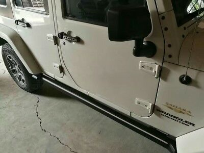 07-17 JEEP WRANGLER JK 4 DRS ELECTRIC NERF BARS STEP RUN BOARD