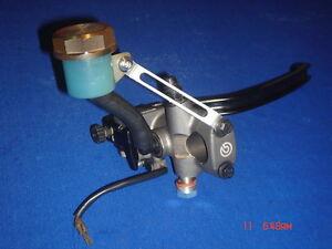 Silver color 19RCS 16RCS Brembo brake Master cylinder reservoir stay bracket