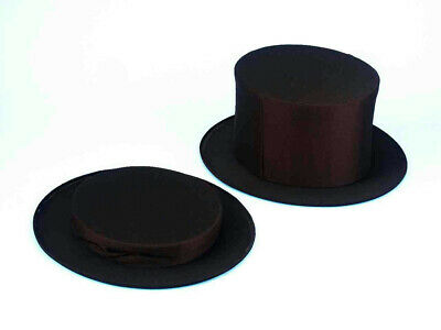 Black Collapsible Top Hat Adult XL - Collapsible Top Hats