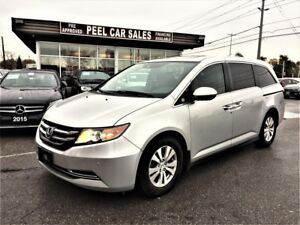 2015 Honda Odyssey EX-L w/Navi|8PASNGER|LEATHER|SUNROOF|