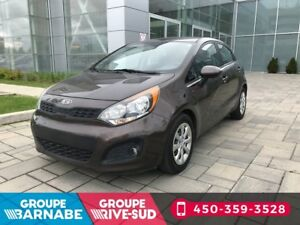 2012 Kia Rio LX 1.6L BLUETOOTH SIEGES CHAUFFANTS SUPER MILAGE
