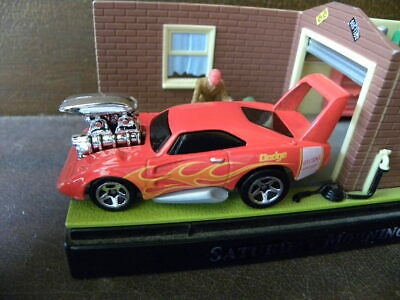 DODGE DAYTONA CHARGER      HOT WHEELS TOON'D MUSCLE  1:64 TWO CAR LOT