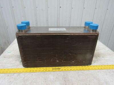 Itt Brazepak 568606100007 Bp422-100 Refrigerant Heat Braised Plate Exchanger