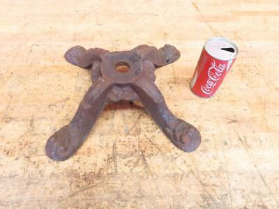 Antique Vintage Cast Iron Candy Gumball Machine Stand Base