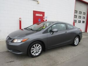 2012 Honda Civic EX ~ Coupe ~ Auto ~ 115,000kms ~ $9999